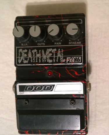 Педаль DOD Death Metal FX 86 (Made in U.S.A.) (Distortion)