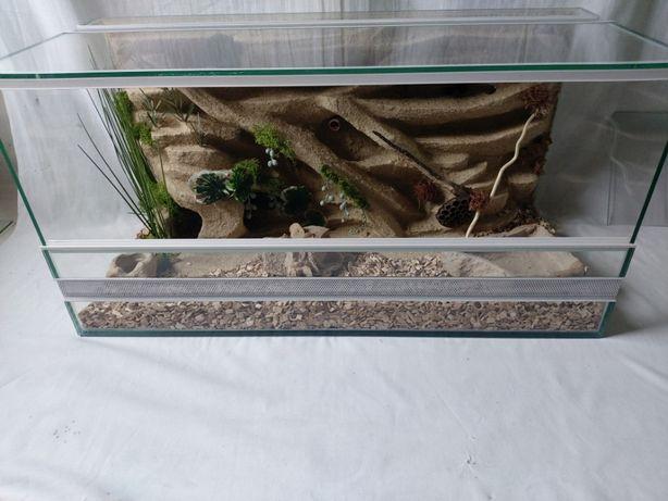 Terrarium AquaWaves nr. kat.TW05PU (wąż, pająk, jeż, gekon, agama)