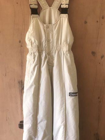 Лыжный термо комбинезон на шлейках Chamonix рост 152 см