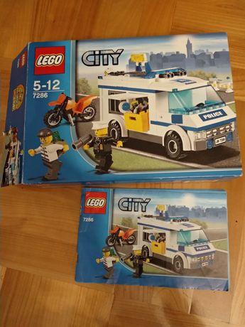 Zestaw LEGO City 7286 Konwój