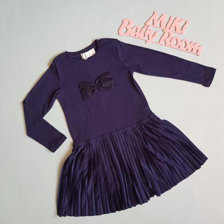 Платье Cool Club с бантиком детское 104 см 4 года