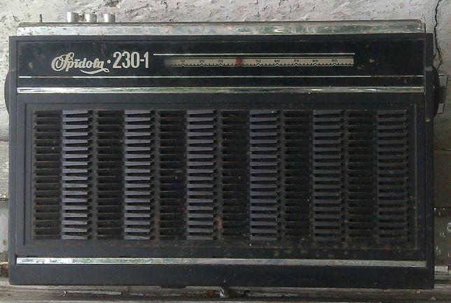 Радиоприёмник Спидола 230-1 из времён СССР,б/у