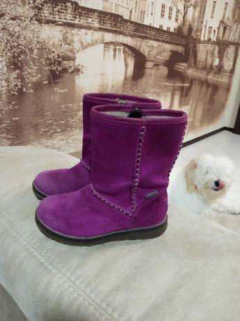 Сапожки ботиночки замшевые superfit р.25 стелька 15 см.