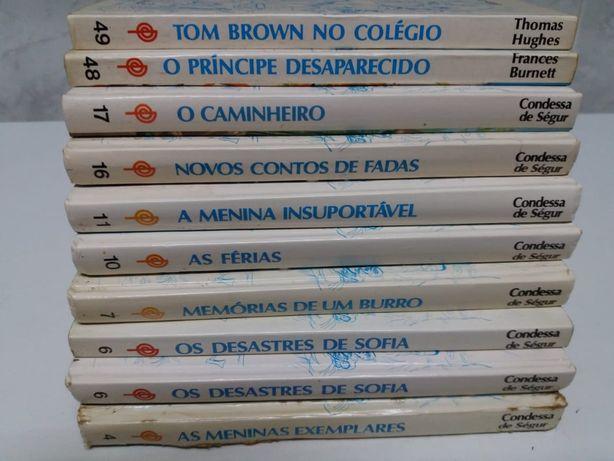 Livros Juvenis da Colecção Editorial Pública