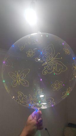 Воздушный светящийся шар BOBO-BALLONS 3 режима с рисунками