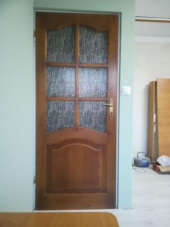 Drzwi pokojowe sosnowe 4 sztuki
