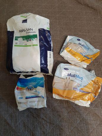 Podkłady poporodowe i koszule do porodu.