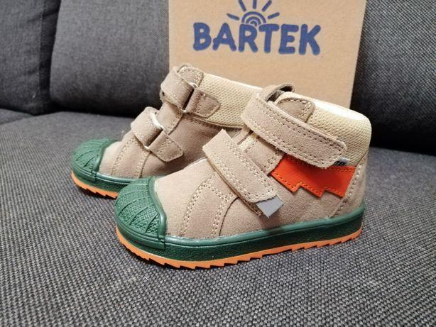 Nowe buciki trzewiki skorzane Bartek 22