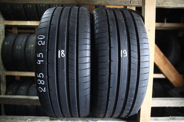 Шини літо 285/45R20 DUNLOP SP Sport Maxx RT2 2шт 18,19рік 6+мм