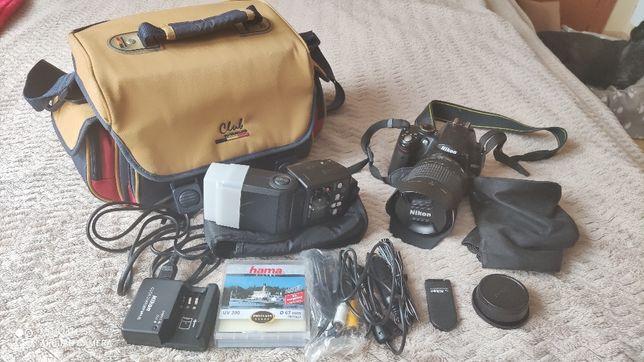 Nikon D5000 Okazja Super zestaw
