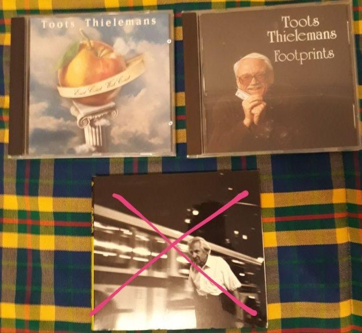 CD jazz 7e cada: Toots Thielemans (harmónica)