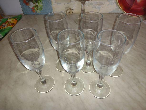 Продам фужеры и стаканы