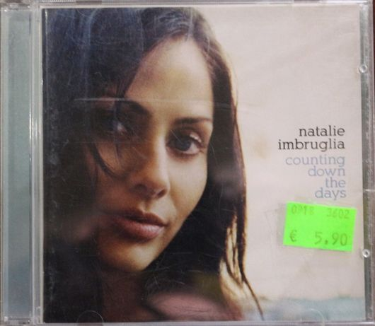 """Cd Musical """"Natalie Imbruglia - Counting Down the Days"""""""