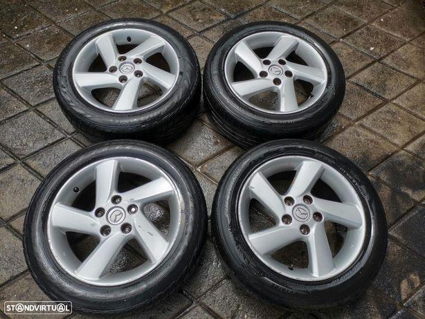 4 jantes 16 Mazda com pneus