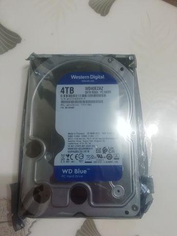 """Новый жёсткий диск 3.5"""" WD Blue 4TB SATA/256MB (WD40EZAZ)"""