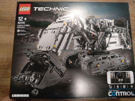 LEGO Technic 42100 koparka Liebherr
