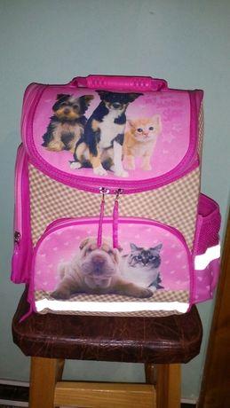 Эрго портфель (рюкзак) для девочки