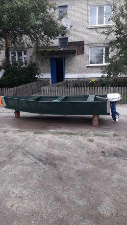 Продам лодку з мотором 6рс Лодка 7000тис Мотор 10000тис