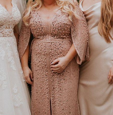 Piękna suknia, suknia Mamy Panny Młodej