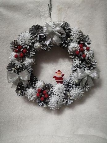 Новорічний різдвяний вінок віночок. Новогодний рождественский венок