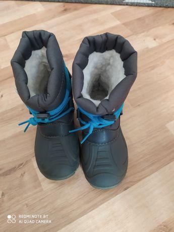 Buty zimowe dla chłopca rozmiar 26