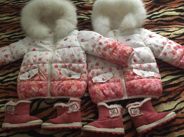 Куртка Zara для девочки р.2-4 года