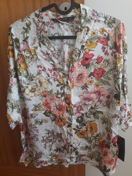Blusa florida, Zara
