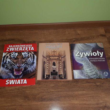 Książki przyrodnicze, przewodnik -sanktuaria.