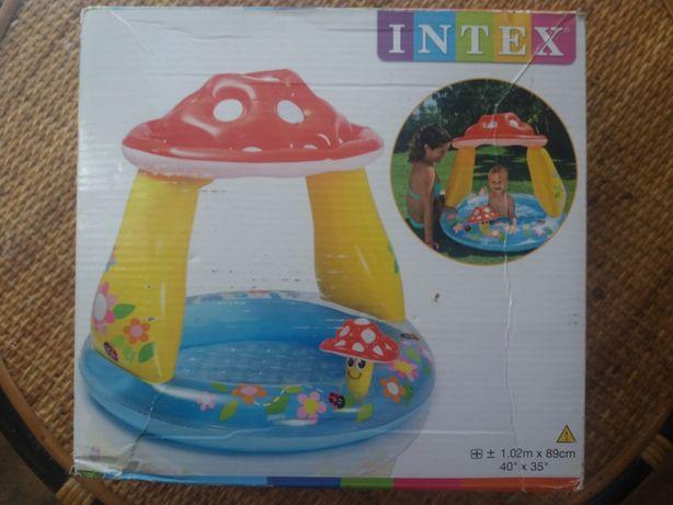 Бассейн детский надувной Гриб Intex