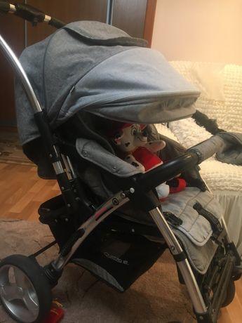 Продам детскую прогулочную коляску Quatro Monza