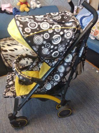 Прогулочная коляска baby hit rainbow в идеальном состоянии