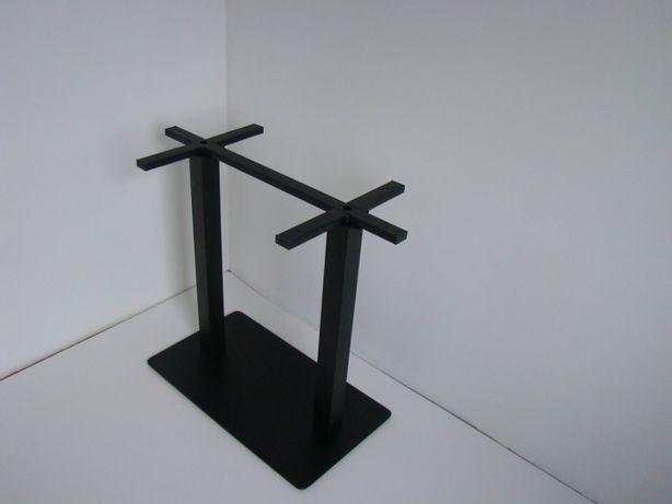 Podstawa do dużego stołu, stelaż podwójny, noga talerzowa, postument
