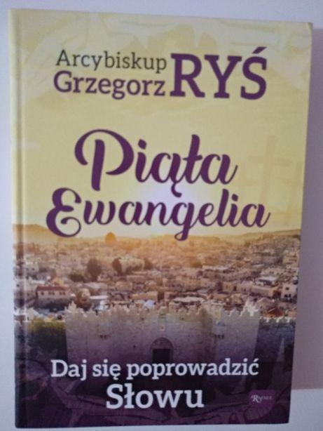 Nowa książka religijna Piąta Ewangelia.Arc. G. Ryś, na prezent