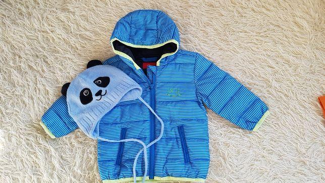 Куртка s. Oliver на малыша весна-осень, 68 см+шапка в подарок!