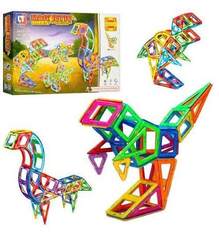 Конструктор Limo Toy 2003 Магнитный, Динозавры, 97 дет,