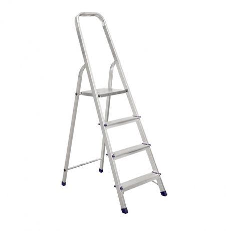 Лестница и стремянка алюминиевая бытовая и профессиональная, драбина