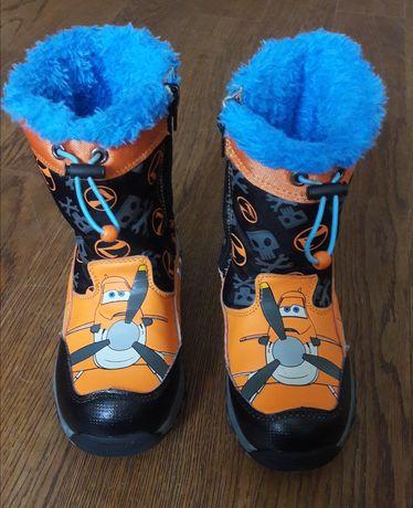 """Зимние детские сапоги ботинки Disney Planes """"Dusty"""" ориг. 28 р."""
