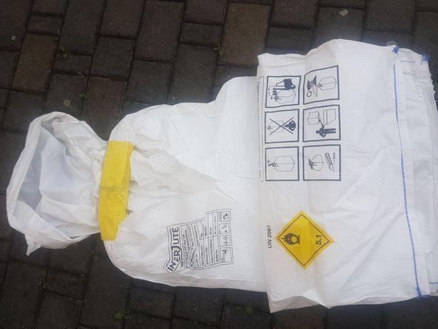 Worki big bag Nowe 62,5x62,5x140 cm 1 uchwytowe wkład foliowy