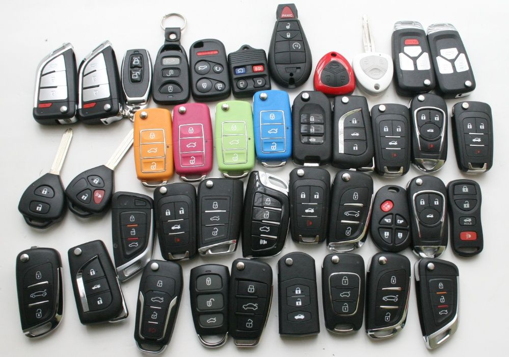 Автоключи с чипом
