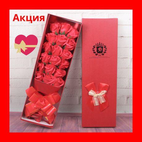 Розы из мыла Подарок для девушки Подарок девушке Крутой подарок