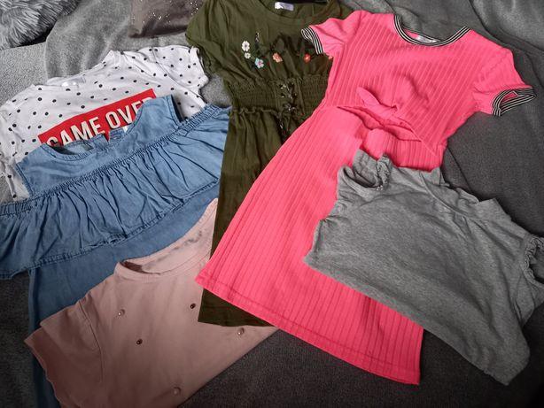 Zestaw ubran dla dziewczynki r.134
