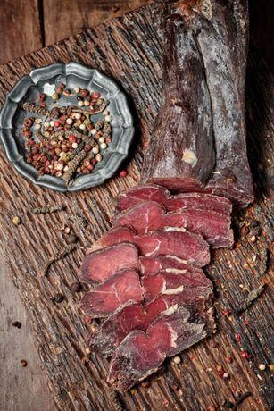 Бастурма Кавказька З Яловичини Крафтове мясо Сирокопчене