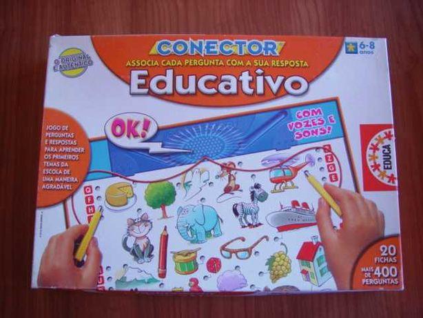 Jogo tabuleiro Conector Educativo.