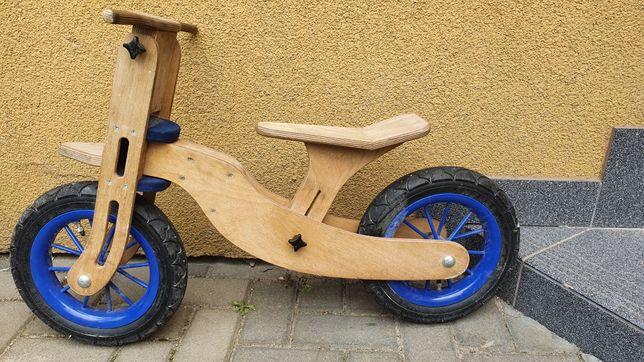 Rower biegowy drewniany