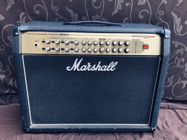 Marshall AVT 275 footswitch efekty!!!