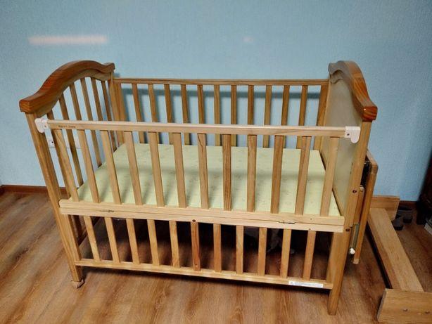 Продам детскую кроватку - трансформер (0 -7 лет) GEOBY Happy Dino
