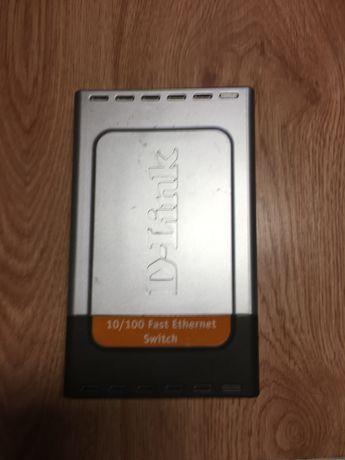 Интернет коммутатор D-LINK DES-1008D