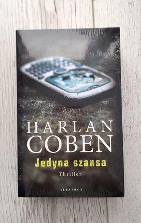 """Książki dwupak Harlan Coben """"Nieznajomy"""" i """"Jedyna szansa"""" Albatros"""