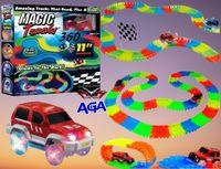 Magic Track 360 el. Świecące Auto + MOST