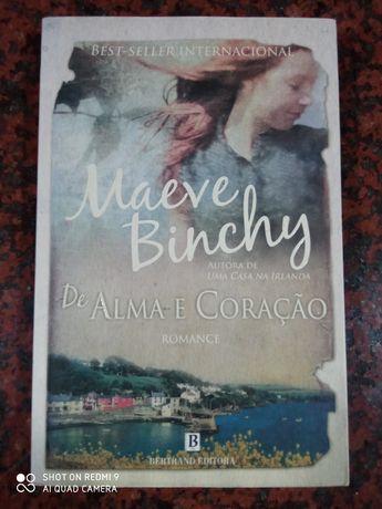 De Alma e Coração - de Maeve Binchy - BARATÍSSIMO